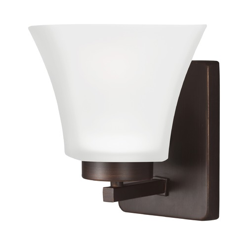 Sea Gull Lighting Sea Gull Lighting Bayfield Burnt Sienna LED Sconce 4111601EN3-710