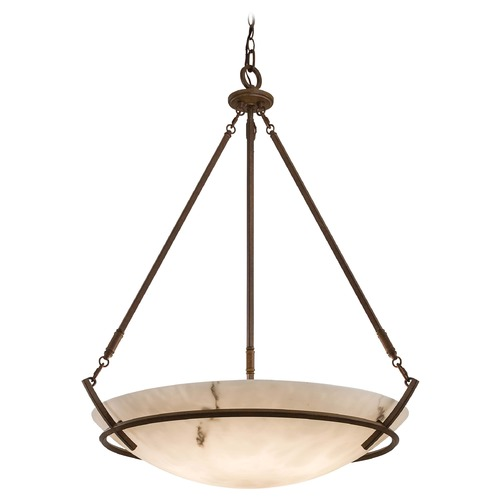 Minka Lavery Large Pendant with Alabaster Glass Light 682-14