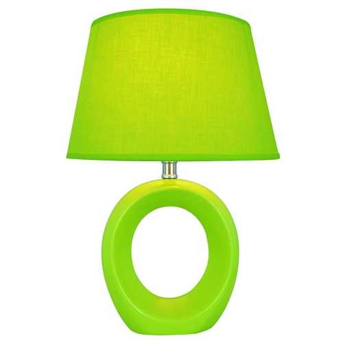 Lite Source Lighting Lite Source Lighting Viko Green Table Lamp with Empire Shade LS-20585GRN