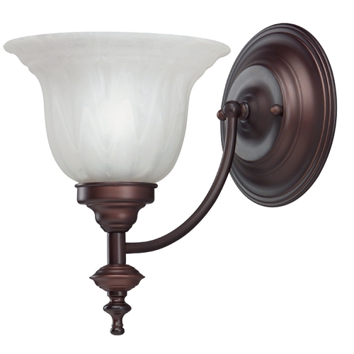 Dolan Designs Lighting Sconce with Alabaster Glass 667-30
