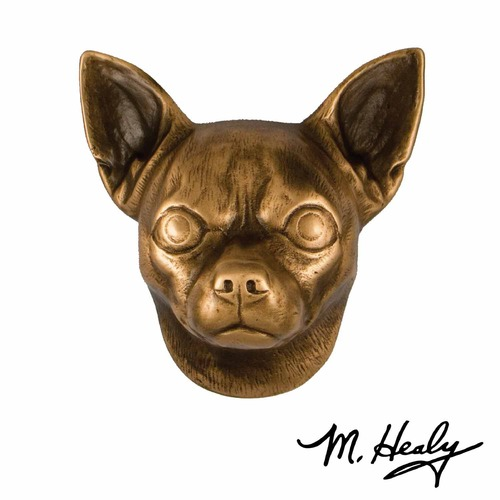 Michael Healy Michael Healy Designs Highlighted Patina Door Knocker MHDOG10