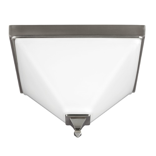 Sea Gull Lighting Sea Gull Lighting Denhelm Brushed Nickel Flushmount Light 7550402-962