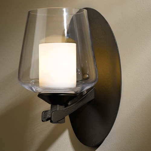 Hubbardton Forge Lighting Hubbardton Forge Lighting Ribbon Bronze Sconce 204104-SKT-05-ZU0291