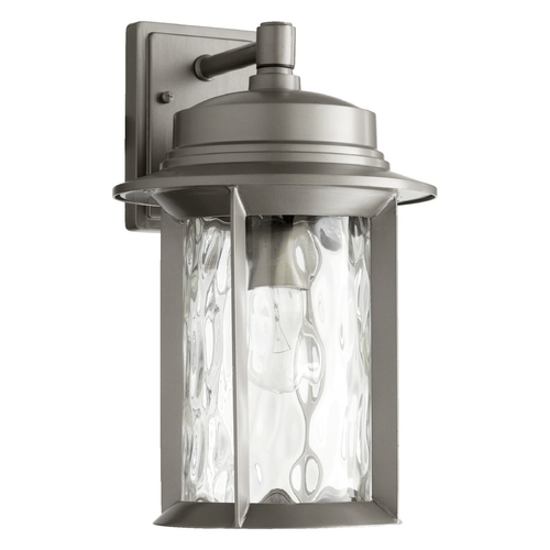 Quorum Lighting Quorum Lighting Charter Graphite Outdoor Wall Light 7246-9-3