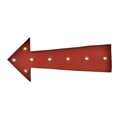 Sterling Lighting Arrow Marquee Sign 51-033