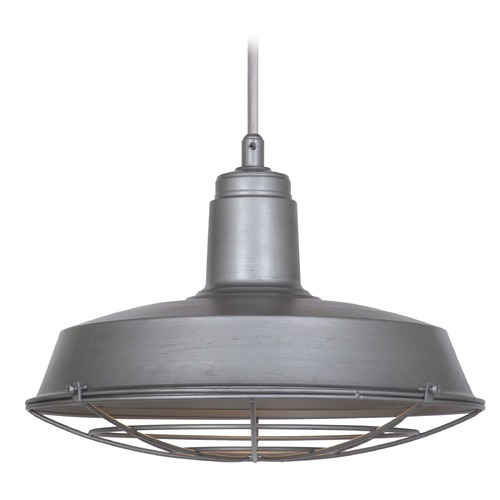 Craftmade Lighting Craftmade Aged Galvanized Pendant Light P530AGV1