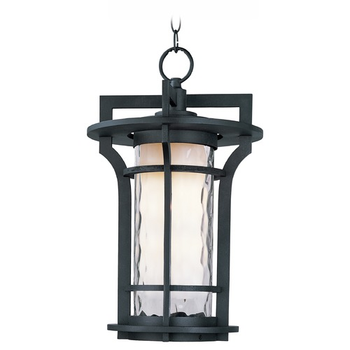 Maxim Lighting Maxim Lighting Oakville LED Black Oxide LED Outdoor Hanging Light 55788WGBO