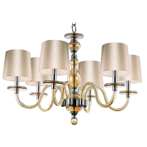 Maxim Lighting Maxim Lighting International Venezia Polished Nickel Chandelier 27546CGPN