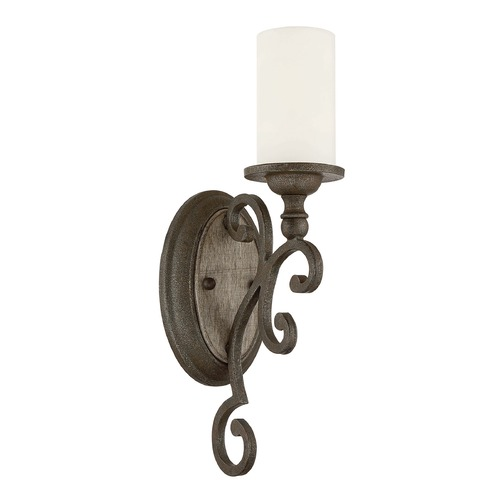 Savoy House Savoy House Lighting Strathmore Century Bronze Sconce 9-744-1-09