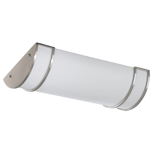 Quorum Lighting Quorum Lighting Satin Nickel Flushmount Light 87424-3-65