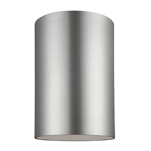 Sea Gull Lighting Sea Gull Lighting Outdoor Bullets Painted Brushed Nickel LED Close To Ceiling Light 7813891S-753