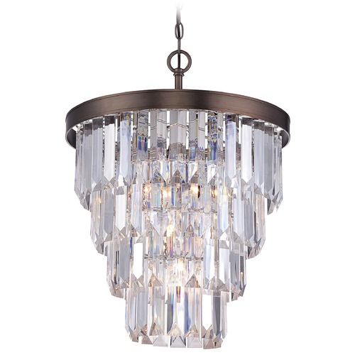 Savoy House Savoy House Burnished Bronze Mini-Chandelier 1-9805-4-28