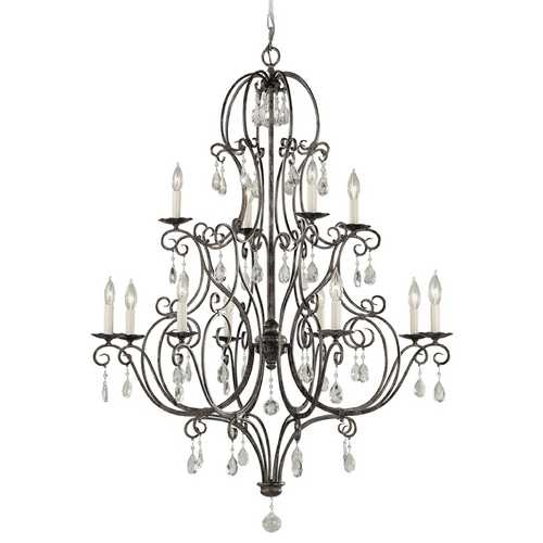 Feiss Lighting Chandelier in Mocha Bronze Finish F1938/8+4MBZ