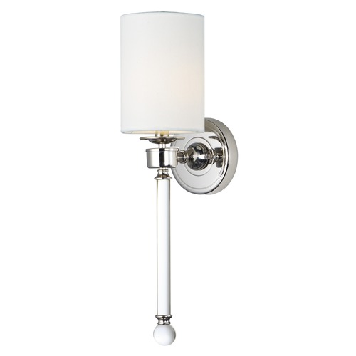 Maxim Lighting Maxim Lighting Lucent Polished Nickel Sconce 16109WTCLPN