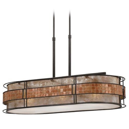 Quoizel Lighting Drum Pendant Light in Renaissance Copper Finish MCLG337RC