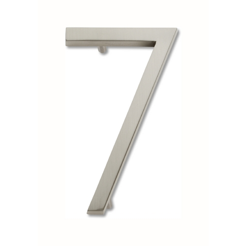 Atlas Homewares Brushed Nickel House Number AVN7-BRN
