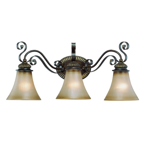 Jeremiah Lighting Jeremiah Kingsley Century Bronze Bathroom Light 26503-CB