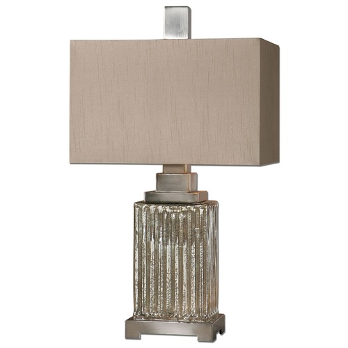 Uttermost Lighting Uttermost Canino Mercury Glass Table Lamp 26289-1