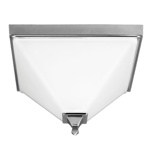 Sea Gull Lighting Sea Gull Lighting Denhelm Chrome Flushmount Light 7550402-05