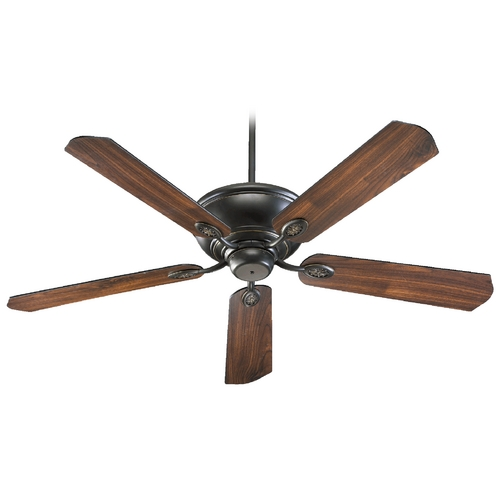 Quorum Lighting Quorum Lighting Kingsley Old World Ceiling Fan Without Light 38605-95