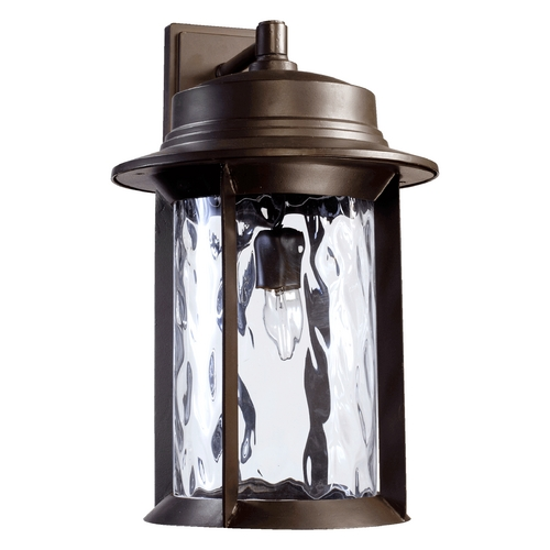Quorum Lighting Quorum Lighting Charter Oiled Bronze Outdoor Wall Light 7246-11-86