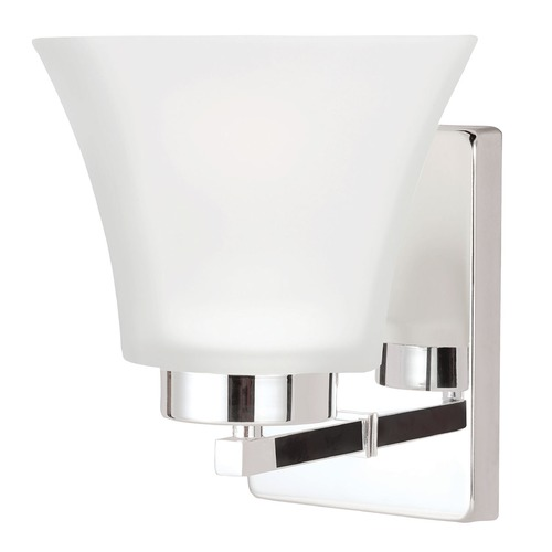 Sea Gull Lighting Sea Gull Lighting Bayfield Chrome Sconce 4111601BLE-05