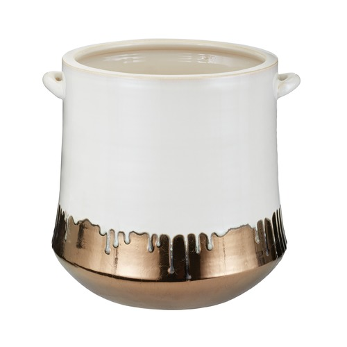 Dimond Lighting Metallic Alloy Drip Crock 857064