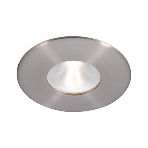 WAC Lighting WAC Lighting Round Brushed Nickel 2-Inch LED Recessed Trim 3000K 975LM 55 Degree HR2LD-ET109PF830BN