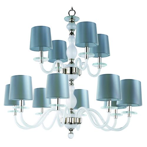 Maxim Lighting Maxim Lighting International Venezia Polished Nickel Chandelier 27548FTPN