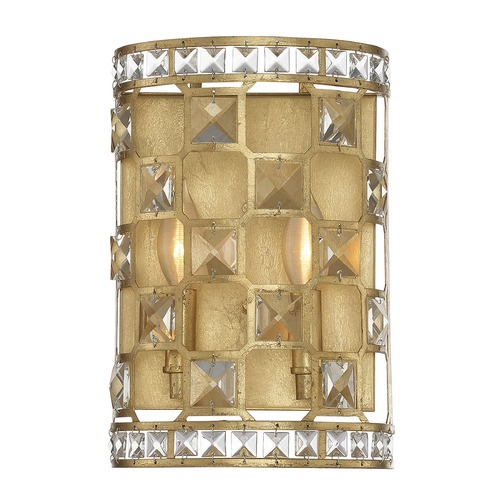 Savoy House Savoy House Lighting Clarion Gold Bullion Sconce 9-844-2-33