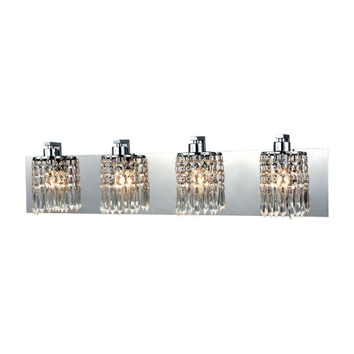 Elk Lighting Elk Lighting Optix Polished Chrome Bathroom Light 11238/4