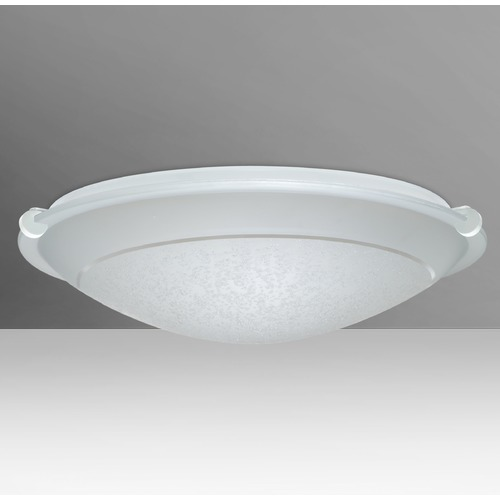 Besa Lighting Besa Lighting Trio White Flushmount Light 9682SFR-WH