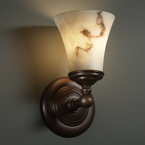 Justice Design Group Justice Design Group Lumenaria Collection Sconce FAL-8521-20-DBRZ