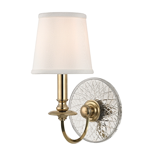 Hudson Valley Lighting Hudson Valley Lighting Yates Aged Brass Sconce 1881-AGB