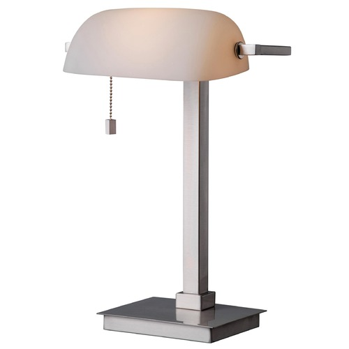 Kenroy Home Lighting Kenroy Home Lighting Wall Street Brushed Steel Task / Reading Lamp 32305BS