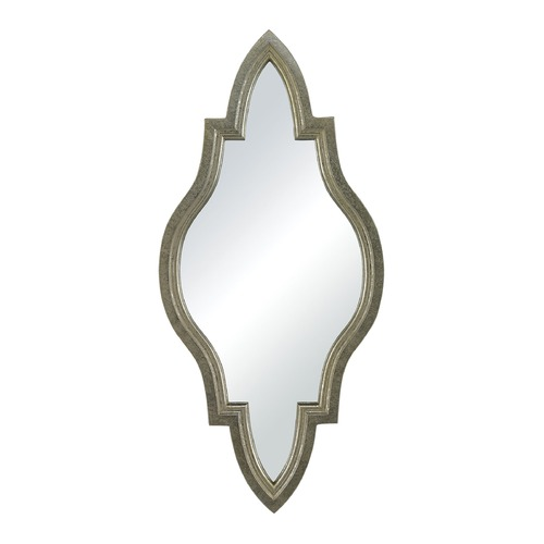 Sterling Lighting Jacarand-Moroccan Inspired Mirror In Silver Frame 138-066