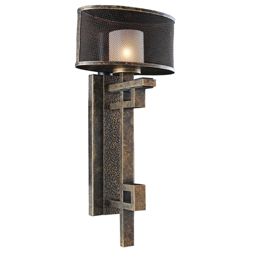 Kalco Lighting Kalco Lighting Stanley Volcano Bronze Sconce 6710VB