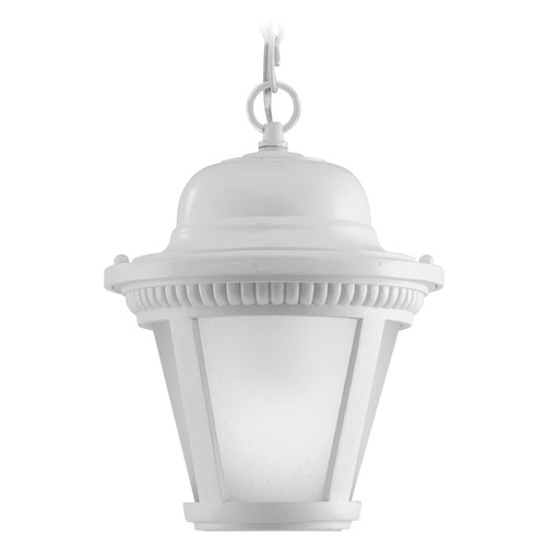 Progress Lighting Progress Lighting Westport LED White LED Outdoor Hanging Light P5530-3030K9