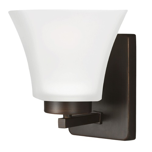 Sea Gull Lighting Sea Gull Lighting Bayfield Burnt Sienna Sconce 4111601BLE-710
