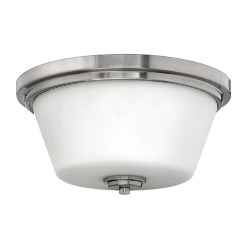 Hinkley Lighting Hinkley Lighting Flushmount Brushed Nickel Flushmount Light 5551BN-GU24