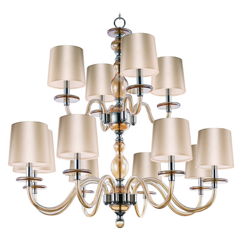 Maxim Lighting Maxim Lighting Venezia Polished Nickel Chandelier 27548CGPN
