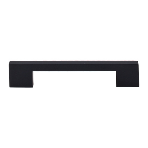 Top Knobs Hardware Modern Cabinet Pull in Flat Black Finish TK23BLK