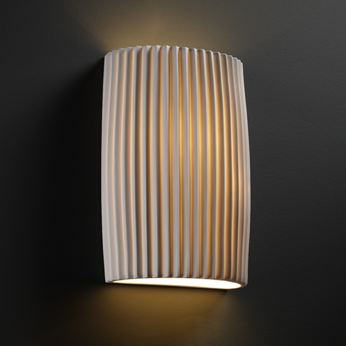 Justice Design Group Justice Design Group Limoges Collection Sconce POR-8858-PLET
