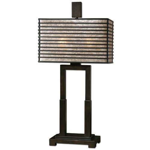 Uttermost Lighting Uttermost Becton Modern Metal Table Lamp 26291-1