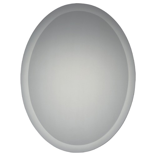 Quoizel Lighting Quoizel Reflections Oval 22-Inch Mirror QR1814