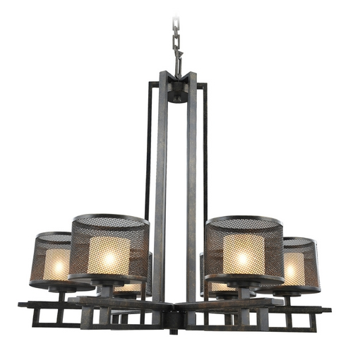 Kalco Lighting Kalco Lighting Stanley Volcano Bronze Chandelier 6715VB