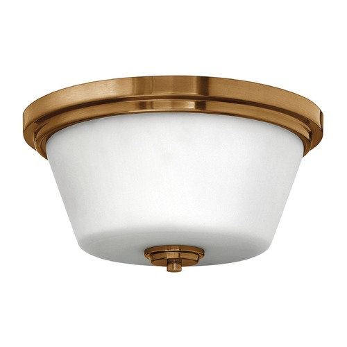 Hinkley Lighting Hinkley Lighting Flushmount Brushed Bronze Flushmount Light 5551BR-GU24