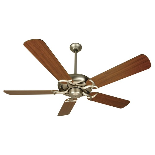 Craftmade Lighting Craftmade Lighting Civic Brushed Satin Nickel Ceiling Fan Without Light K10288