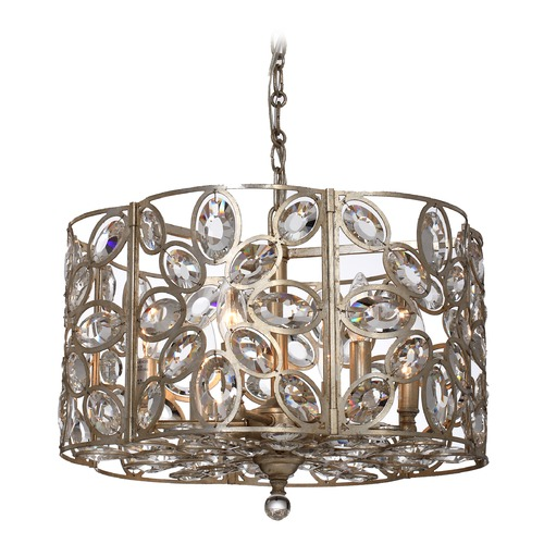Crystorama Lighting Crystorama Lighting Sterling Distressed Twilight Pendant Light 7586-DT