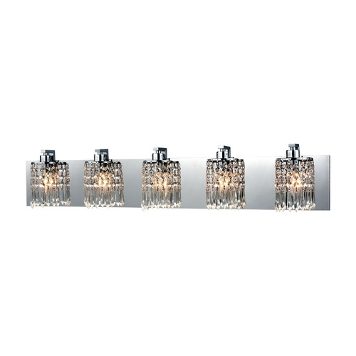 Elk Lighting Elk Lighting Optix Polished Chrome Bathroom Light 11239/5